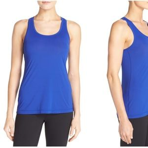 Zella Feel the Breeze Tank Cobalt XS